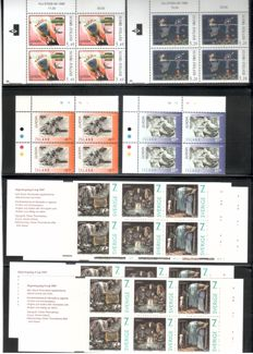 Scandinavia 1963/1998 - batch with CEPT blocks of four, Denmark, Finland, Iceland and Sweden