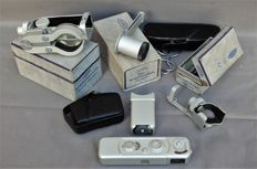Minox B with many accessories Beautiful set