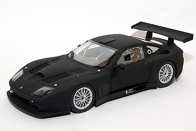 Kyosho - Scale 1/18 - Ferrari 575 GTC 2004 - Colour Matte black