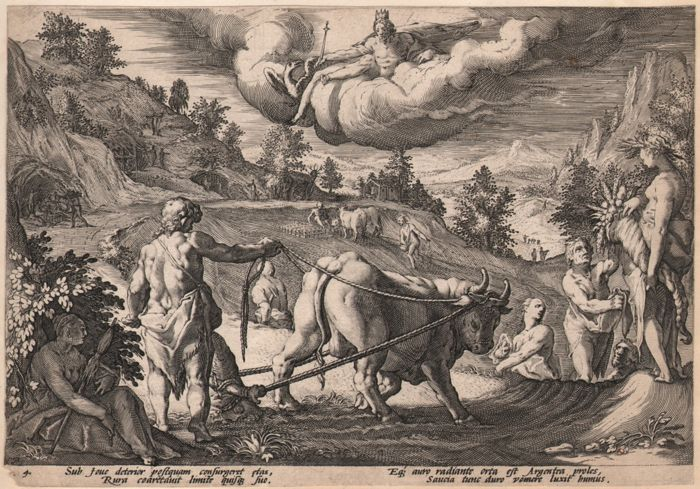 Hendrick Goltzius (1558-1617)  - Silver Age / First state