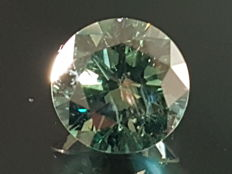 1.19 ct Bluish Green Diamond VS2