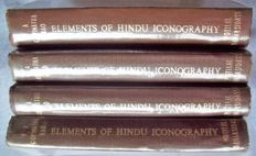 T.A. Gopinatha RAO - Elements of Hindu Iconography (Volume I: Part 1 & 2; Volume 2: Part I & 2) - 1968.