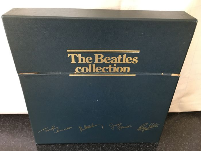 Beatles - Collection 13 records in bluebox  - BC 13 - Year 1978