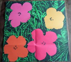 Andy Warhol - Flowers (mailer Castelli)