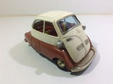 Bandai, Japan - Length 17 cm - BMW Isetta - 1950s