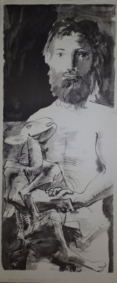 Pablo Picasso (after) - Homme au mouton