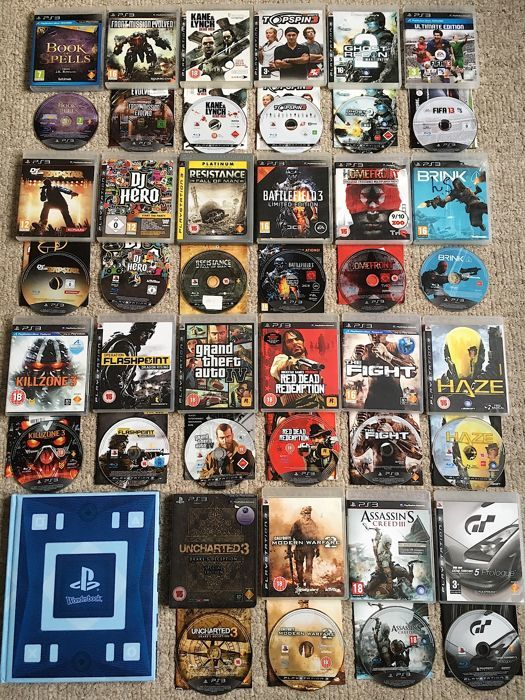 Bundle of 23 Ps3 Games GTA IV, Red Dead Redemptin etc