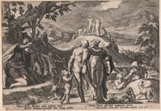 Hendrick Goltzius (1558-1617)  - The deluge / First state - 1589