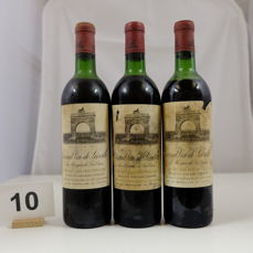 1971 Chateau Leoville-Las Cases 'Grand Vin de Leoville', Saint-Julien Deuxieme Grand Cru Classe, France - 3 Bottles.