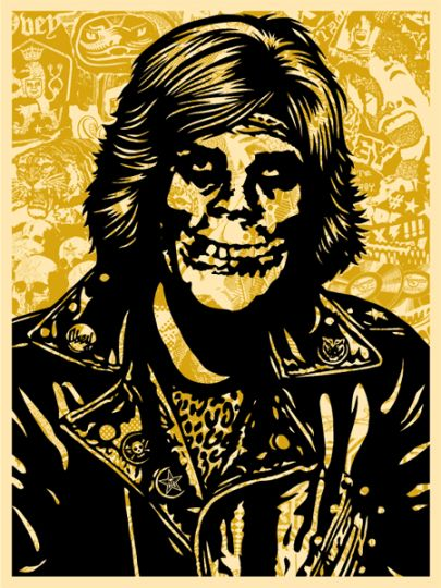 Shepard Fairey (OBEY) - Fiend Rocker Gold