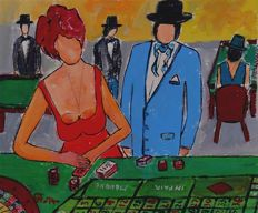Boris Pavlov 1928 -2005 - Casino visit to Nice