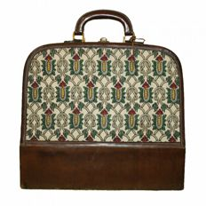 Gucci - Picnic bag - 1950 - Museum piece with certificate of authenticity, only existing piece in the world