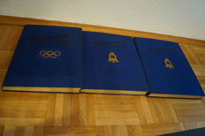 Germany - Olympia 1936 - two rare photo albums from the Olympic Games in Berlin + Olympic 1932. The Olympic Games in Los Angeles 1932.