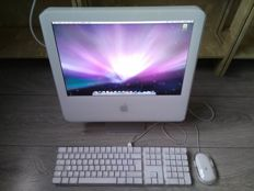 "Apple iMac G5 17"" - model A1058 - PowerPC G5 1.8Ghz CPU, 2GB RAM, 80GB HDD, DVD-RW Superdrive, Original Apple Keyboard / Mouse"
