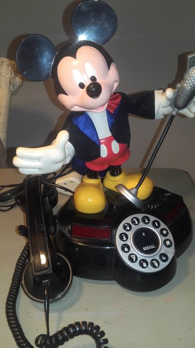 Disney - Telephone Superfone Holland - Mickey Mouse telephone (c. 1980/1990)