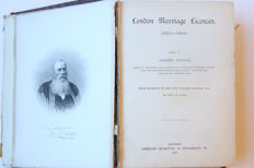 Joseph Foster - London Marriage Licences, 1521-1869 - 1887
