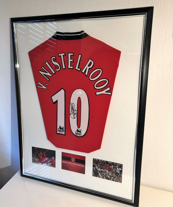 half off 3fe9f 4bf38 Ruud van Nistelrooy signed Manchester United Jersey (JSA COA ...