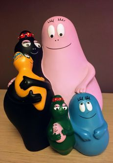 Barbapapa - Vintage money box.