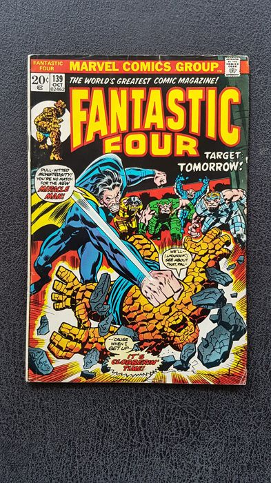 Marvel Comics - Fantastic Four  #139 - (1973)