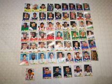 Panini - France 98 World Cup - 66 stickers.