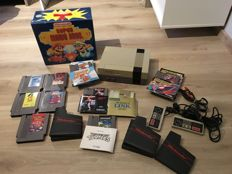 Original Nes (PAL) + 10 games + 2 controllers and unique Storage Box