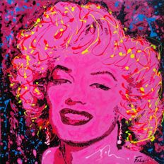 Joaquim Falcó    - Marilyn in pink