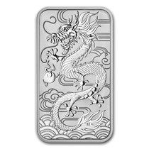 Australia - 1 Dollar 2018 'Dragon' - 1 oz silver