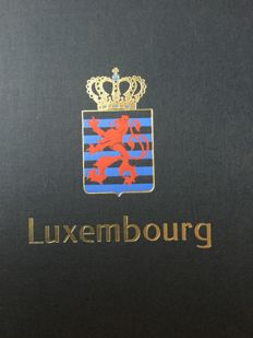 Luxembourg - Collection in a Davo album