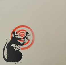 Banksy - Radar rat