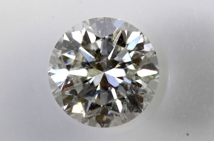 AIG Sealed Diamond - 0.59 ct - G, SI2 - Excellent Cut
