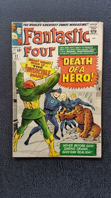 Marvel Comics - Fantastic Four  #32  - (1964)
