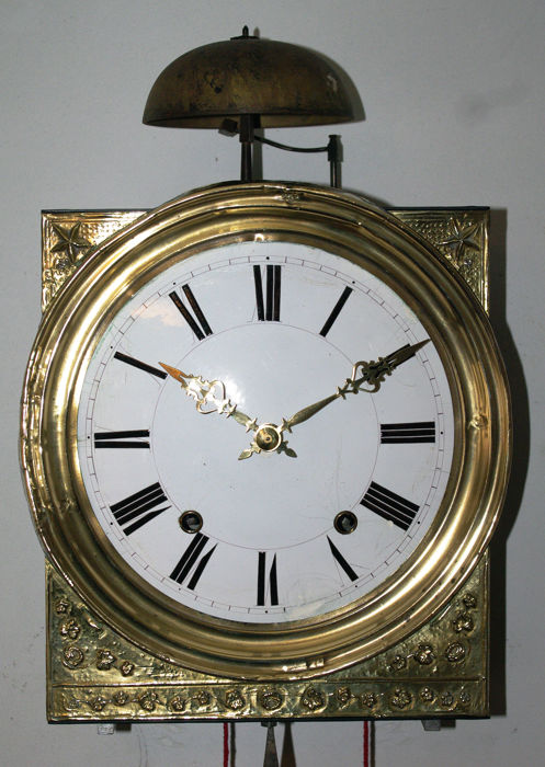 Station's Comtoise clock - 1870 period