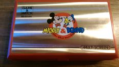 Game & Watch - Mickey & Donald Double Screen 1982