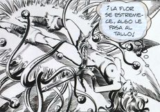 Romero, Enrique Badía - Original strip (no. 1282) - Axa - The Dwarfed - (1982)