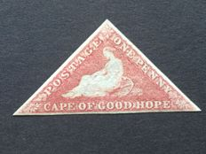 Cape of Good Hope, Stanley Gibbons 5 with three margins