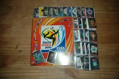 Panini - World Cup 2010 - Empty album with complete set of 640 loose stickers