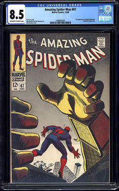 Marvel Comics - Amazing Spider-man #67 - CGC Graded 8.5 - (1968)