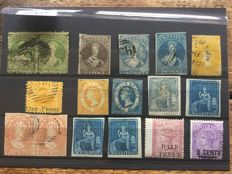 British Commonwealth - A small selection on stock card