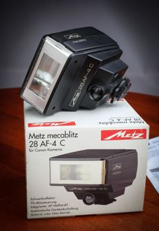 Metz Mecablitz 28 AF-4C  for digital Canon New