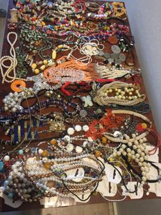 Nice collection of decorative jewellery .