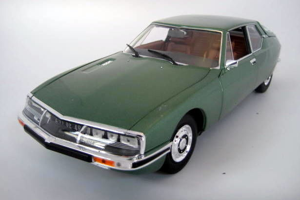 Norev - 1:18 - Citroën SM Metallic Green 1971 - Mint Boxed