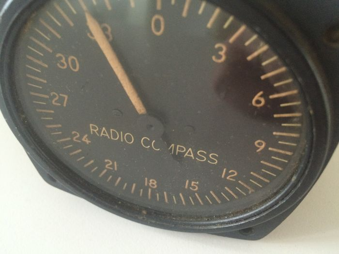 Radio Compass Indicator I-81-A, Bendix
