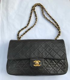 Chanel - Timeless Double Flap  Handtas - VIntage