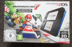 Nintendo 2DS Mario Kart edition. Boxed with manual