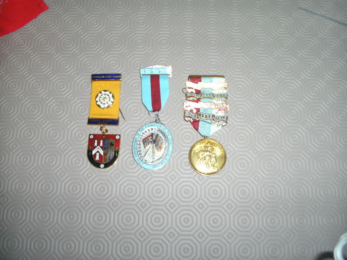 Masonic medals/Jewels