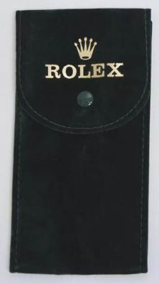 TWO (2) Rolex Travel Pouches