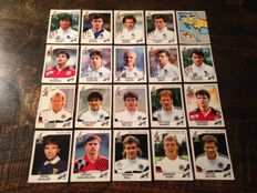 Panini - Euro 92 Sweden - 51 different original stickers