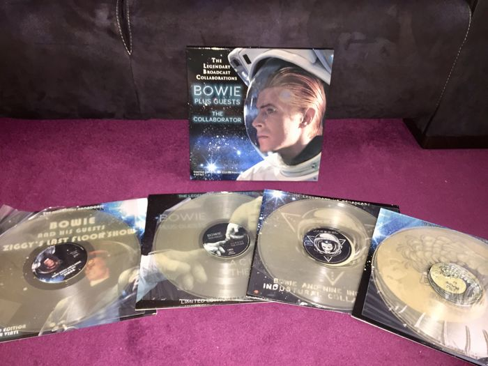 David Bowie - The Legendary Broadcast Collaboration (4 x Clear Viny LP Box Set)