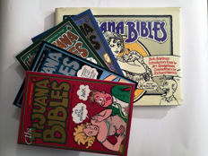 Collection of 5 Tijuana Bible Reprint Books X4 SC  X1 HC - (1997/1999)