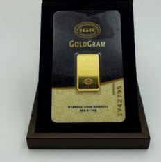 10 Gr Sealed Fine 24 K Bullion Gold Bar